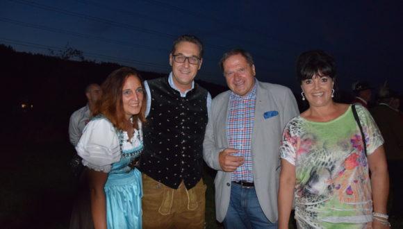 Sonnwendfeier mit HC Strache