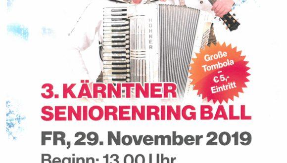 3. KÄRNTNER SENIORENRING BALL
